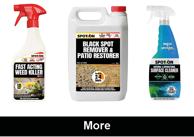 Path and patio cleaners and weedkiller products