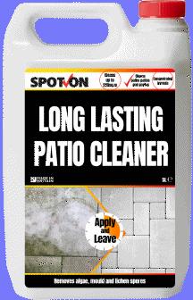 Helps remove algae, mould and lichen spores