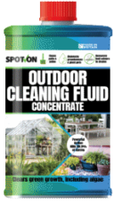 Ideal cleaner for cleaning outdoor areas and your waste disposal