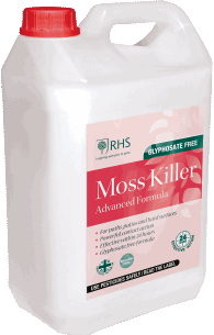 Control moss in your paths and patios with our 5L ready to use treatment