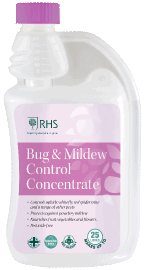 Control mites and flying pests, includes mildew treatment