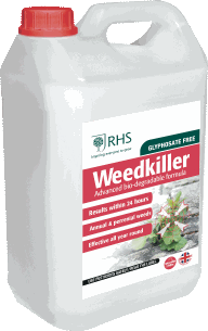 Strong weed killer formulated for minimum after effects of use