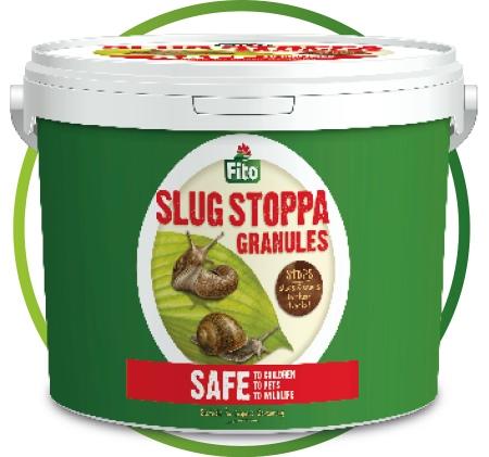 Slug Stoppa large tubs for total slug control in your garden