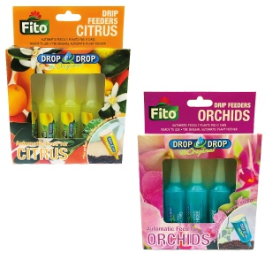 fito citrus and orchid drip feeders in 5 packs