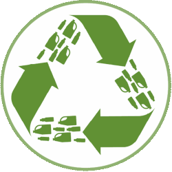 We are endeavouring to use recycled materials and less waste